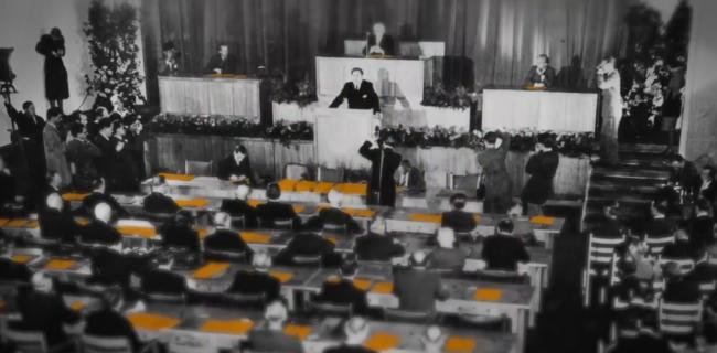PR-Journal - Messenger-Projekt: 70 Jahre Grundgesetz – die Entstehung