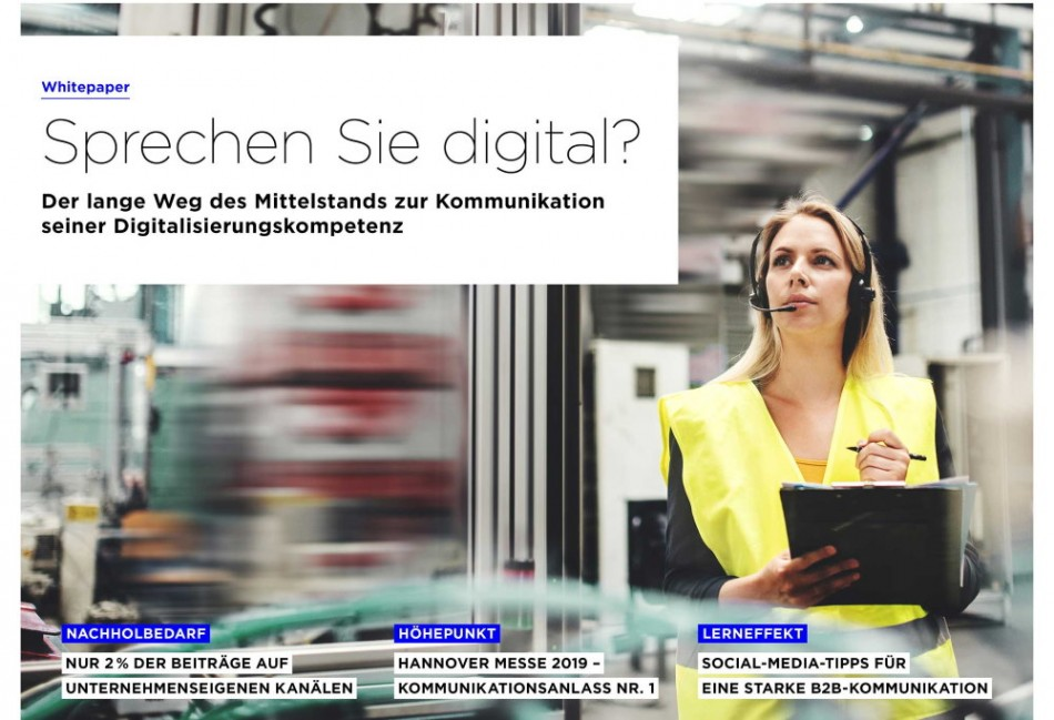 Studie: Das Netz spricht über Digitalisierung, doch der Mittelstand beteiligt sich kaum