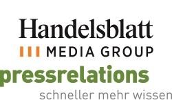 Handelsblatt Media Group Pressrelations Logos