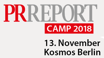 PR Report Camp 2018 Logo