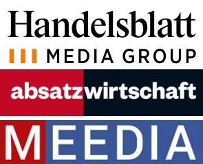 Handelsblatt Media Group Absatzwirtschaft Meedia Logo 2019