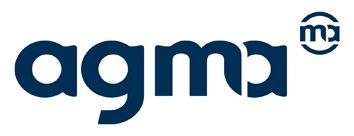 Agma Logo blau