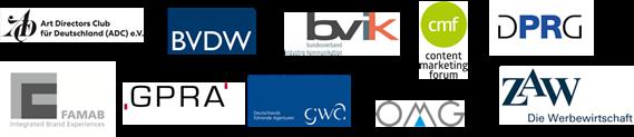 Kommunikationswirtschaft Verbandsallianz 10 Logos