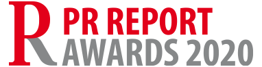 PR ReportAwards quer2020 Logo