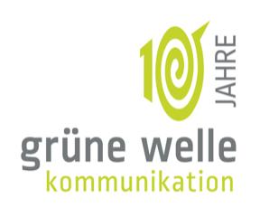 Gruene Welle Kom Logo 10 Jahre