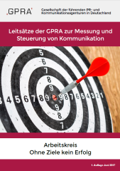 GPRA Leitsaetze Erfolgsmessung Cover