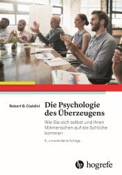 Psychologie des Ueberzeugens Cialdini Buchcover
