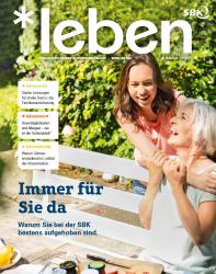 SBK Mitgliedermagazin Cover
