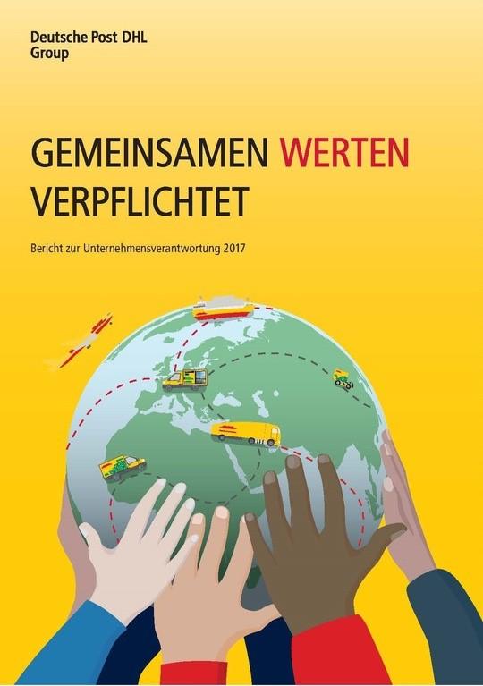 DHL Dt Post Bericht Unternehmensverantwortung 2017 Cover