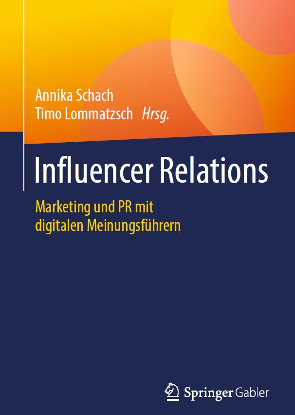 Influencer Relations Schach Lommatzsch Buchcover