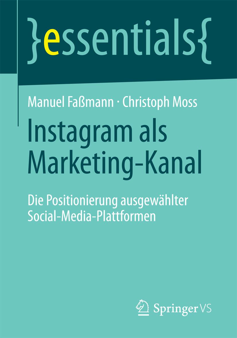 Instragram als Marketing Kanal Fassmann Moss Buchcover