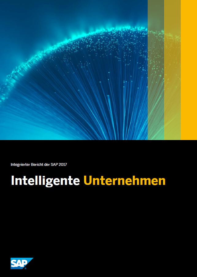 SAP Nicht Finanzieller Report 2017 Cover