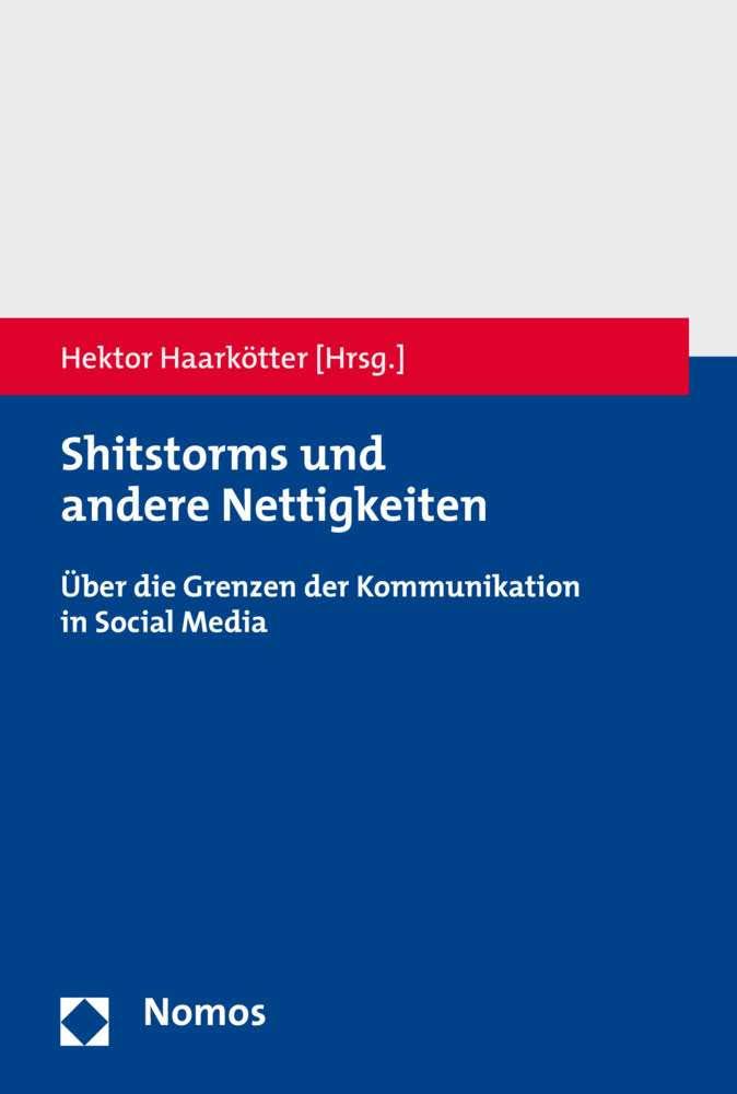 Shitstorms Haarkoetter Hektor Nomos Buchcover