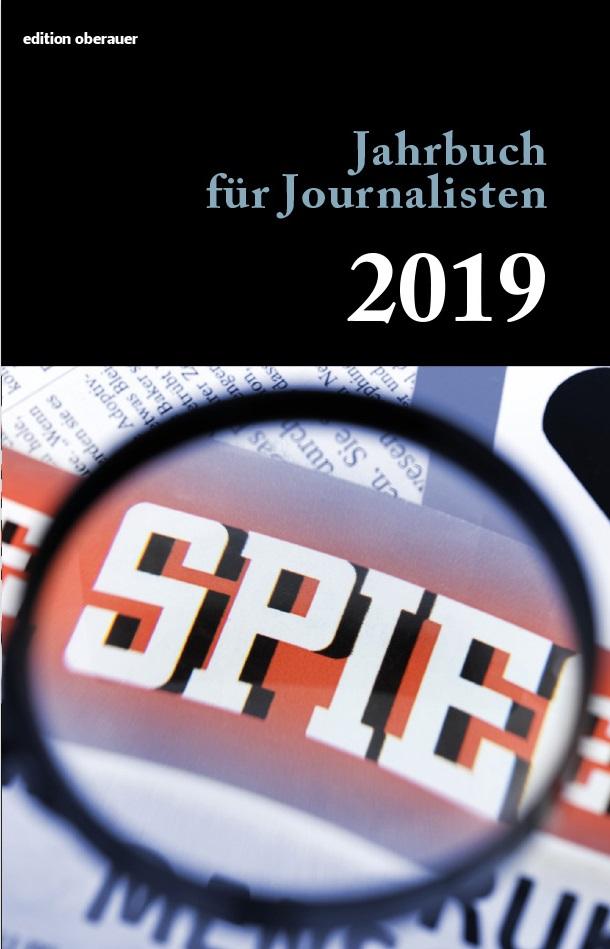 Jahrbuch Journalisten 2019 Oberauer Verlag Cover