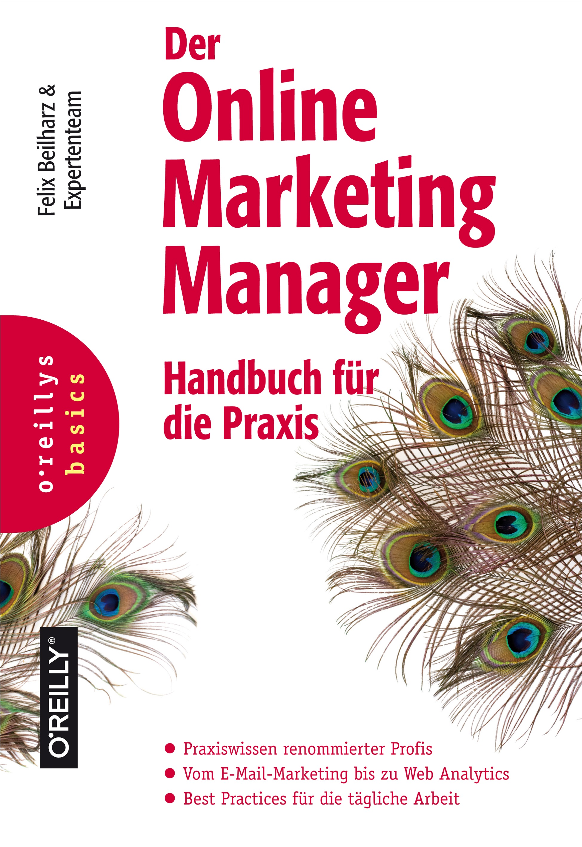 Online Marketing Manager Handbuch Beilharz Felix Cover