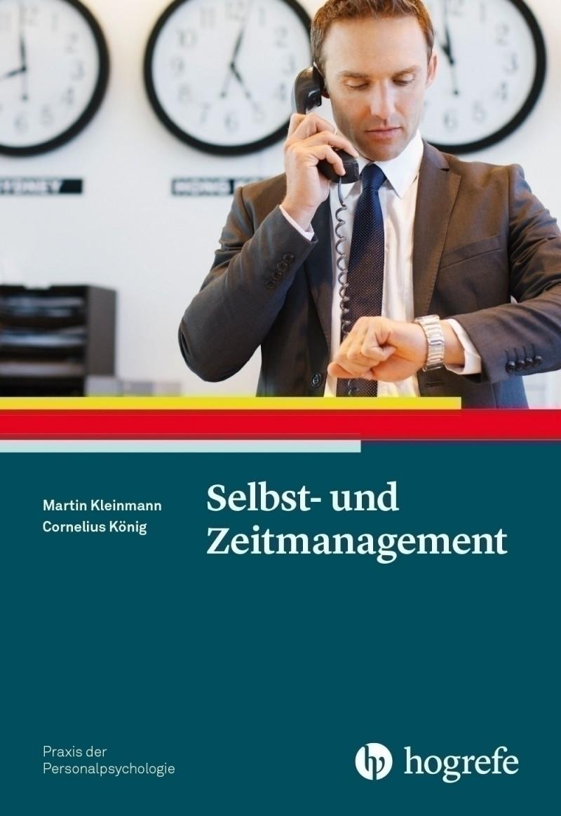 Selbst u Zeitmanagement Kleinmann Koenig Hogrefe Buchcover