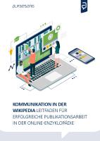 Aufgesang Kommuniaktion in Wikipedia Cover 2020