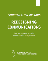 Communication Insights 8 Redesigning Com Cover