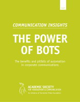 Communication Insights 9 The Power Of Bots Cover