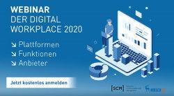Digitaler Arbeitsplatz 2020 Webinar SCM HirschTec
