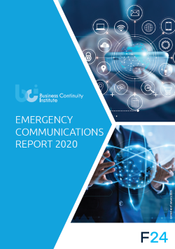 Emergency Communications Report 2020 Cover