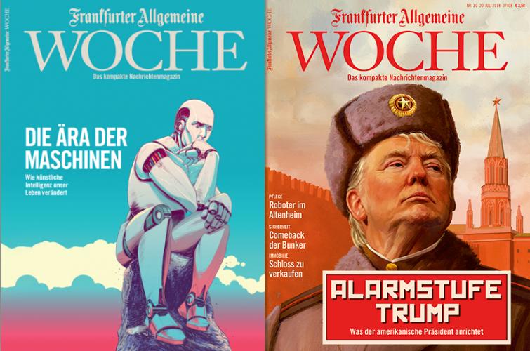 FAZ Woche Covers