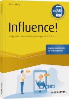 Influence Buchcover Autorin Alina Ludwig