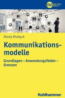 Kommunikationsmodelle Khabyuk Olexiy Cover