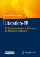 Litigation PR Buchcover