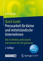 Quickguide Pressearbeit fuer KMU Cover