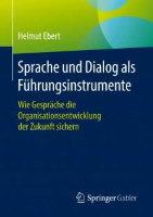 Sprache und Dialoge als Fuehrungsinstrument Helmut Ebert Cover
