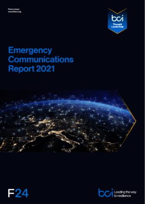 BCI Emergency comms report 2021