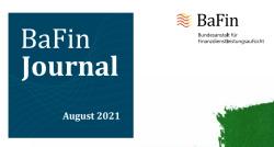 BaFin Journal 082021 Cover