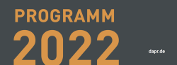 DAPR Programm 2022 Cover