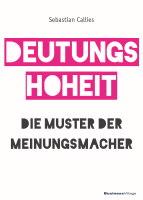 Deutungshoheit Buch Sebastian Callies Cover