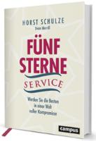 Fuenf Sterne Service Buchcover Horst Schulze