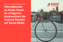 Pioneer Media Check Fahrradhaendler 2021 Cover