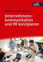 U kom und PR konzipieren Nanette Besson Buchcover