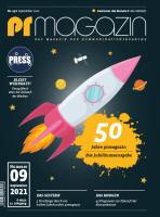 prmagazin Cover 09 21 50 Jahre