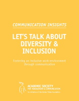 CommunicationInsights 11 Diversity Inclusion Cover