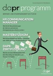 DAPR Programm 2017 2018 Cover