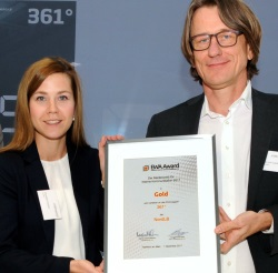 EWA Award Gold NordLB