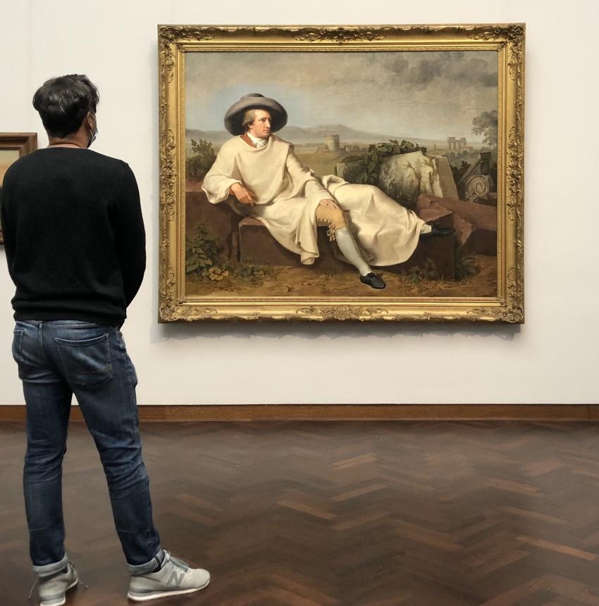 Akbar Murtaza im Staedel Goethe 2021