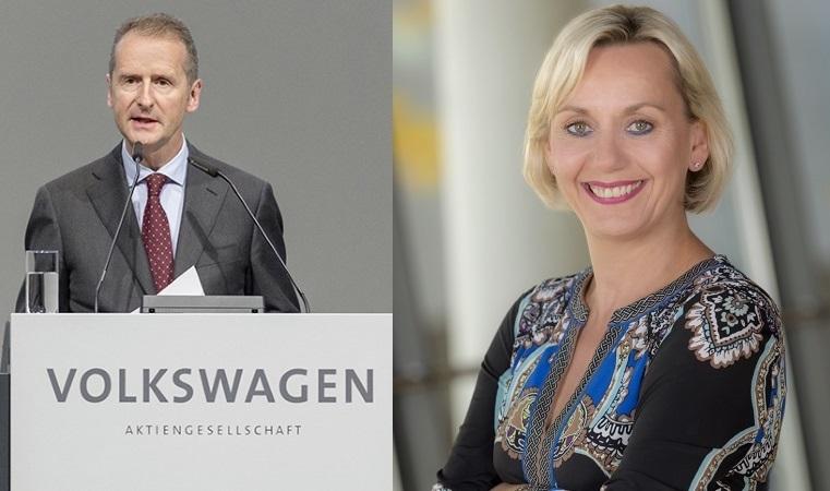 Diess Herbert CEO Volkswagen Konzern Marell Susanne