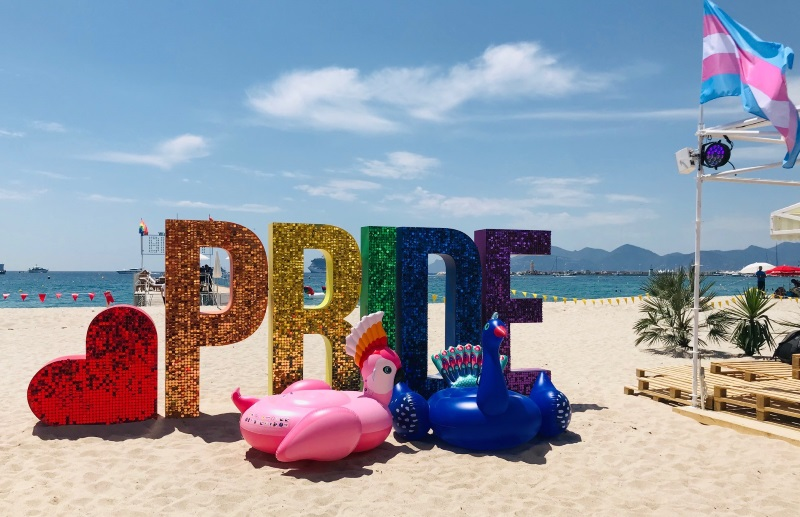 Ziegler Alicia Wilts Lisa Kristin Cannes Google Beach Pride
