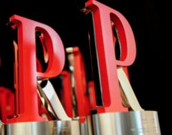 PR Report Award Trophy