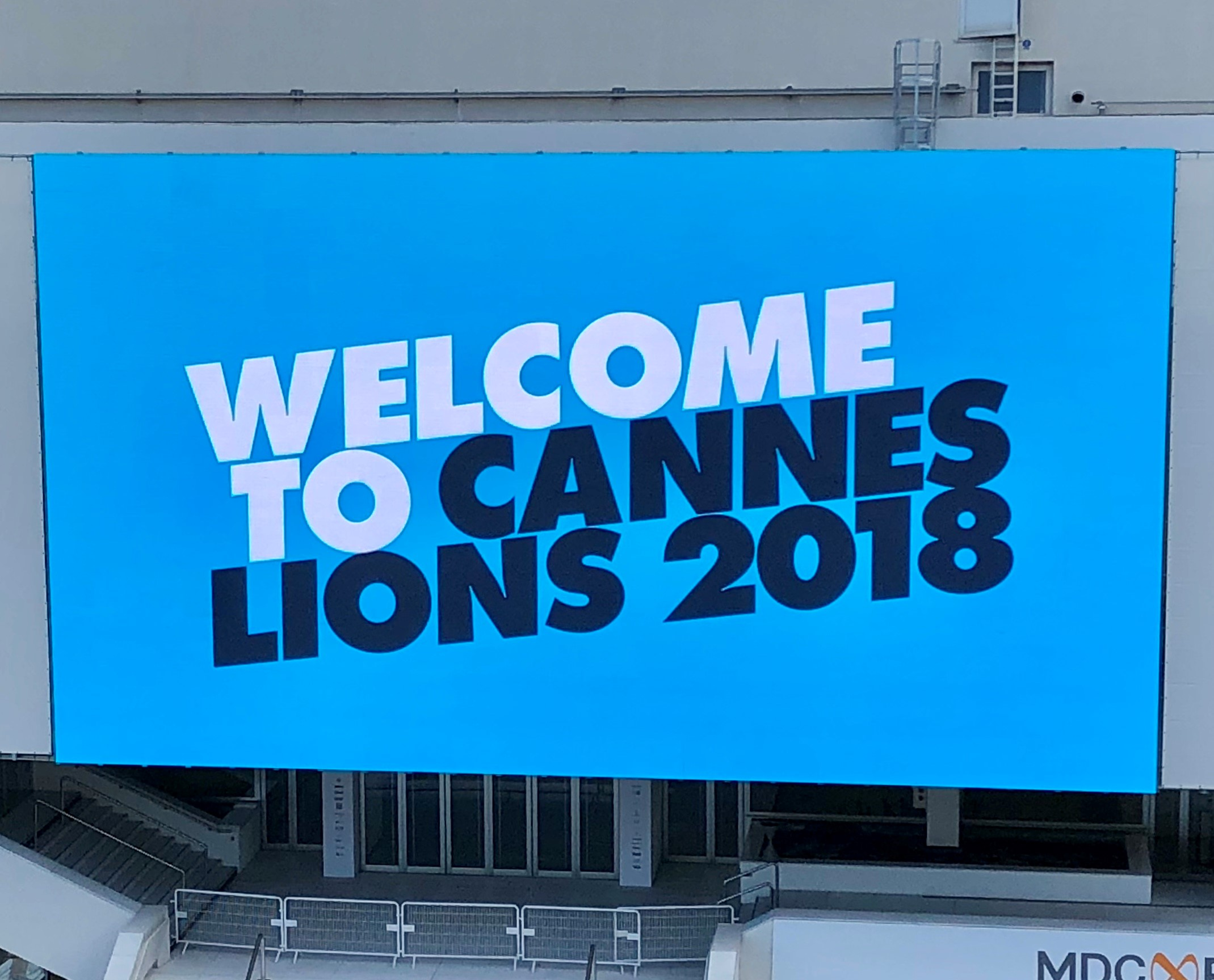 Cannes Lions 2018 Welcome