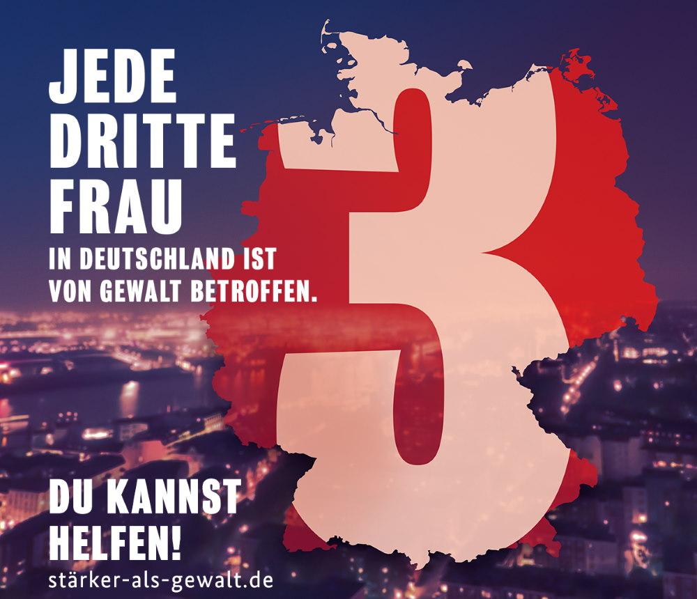 BMFSFJ Kampagne Staerker als Gewalt KeyVisual