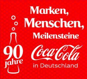 Coca Cola 90 Jahre in D