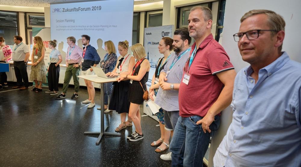DPRG Zukunftsforum 2019 Session Planung